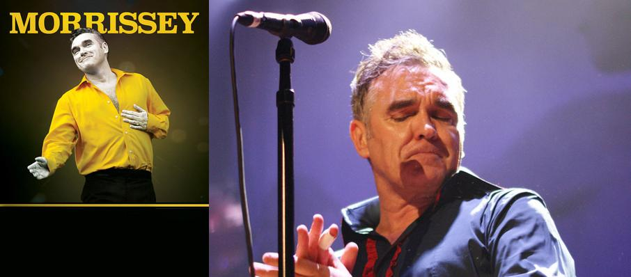 Morrissey at Northern Alberta Jubilee Auditorium
