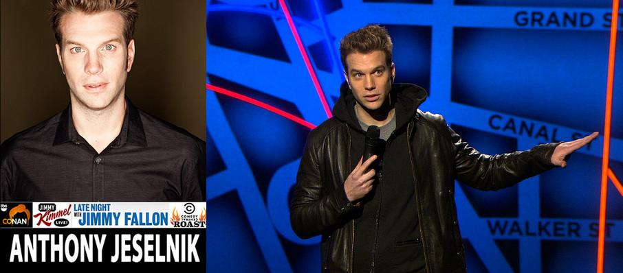Anthony Jeselnik at Myer Horowitz Theatre