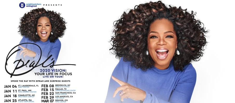 Oprah Winfrey at Rogers Place