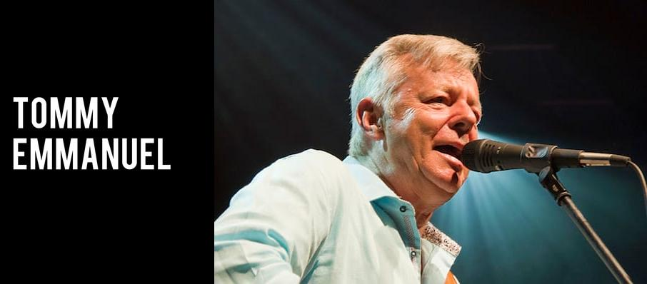 Tommy Emmanuel at Myer Horowitz Theatre