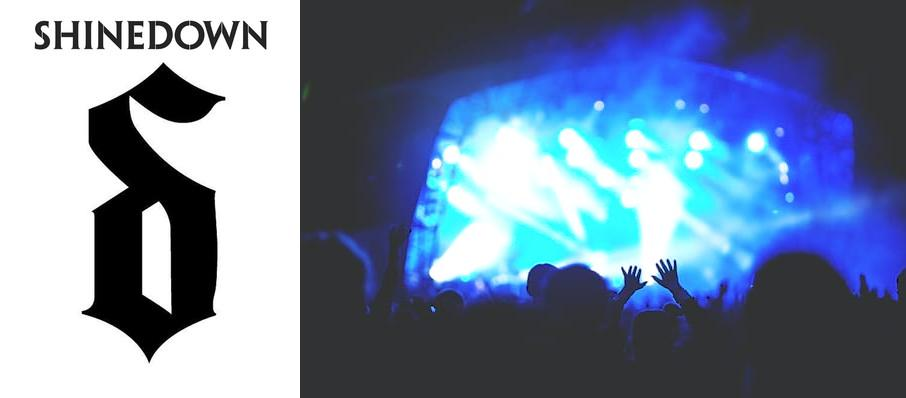Shinedown at Edmonton Convention Centre