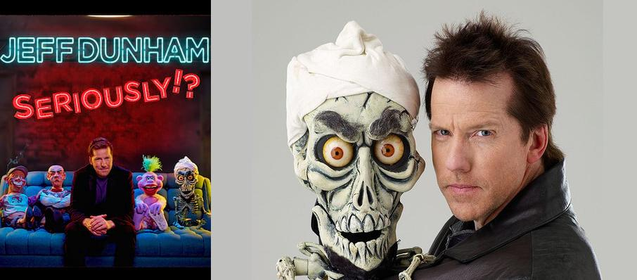 Jeff Dunham at Rogers Place