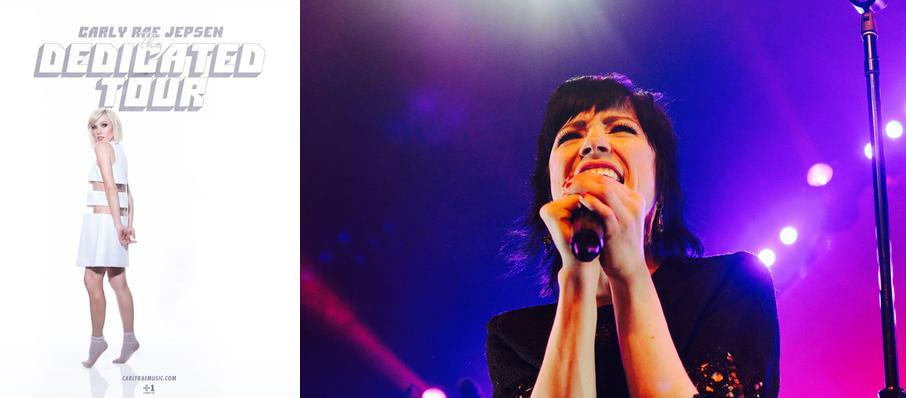 Carly Rae Jepsen at Francis Winspear Centre