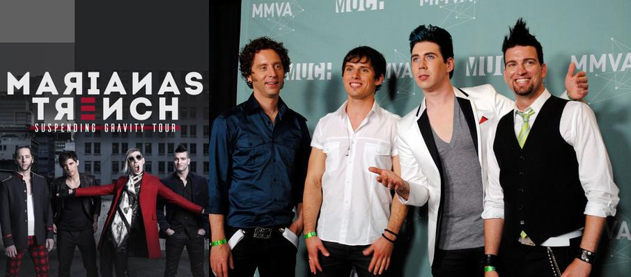 Marianas Trench at Northern Alberta Jubilee Auditorium