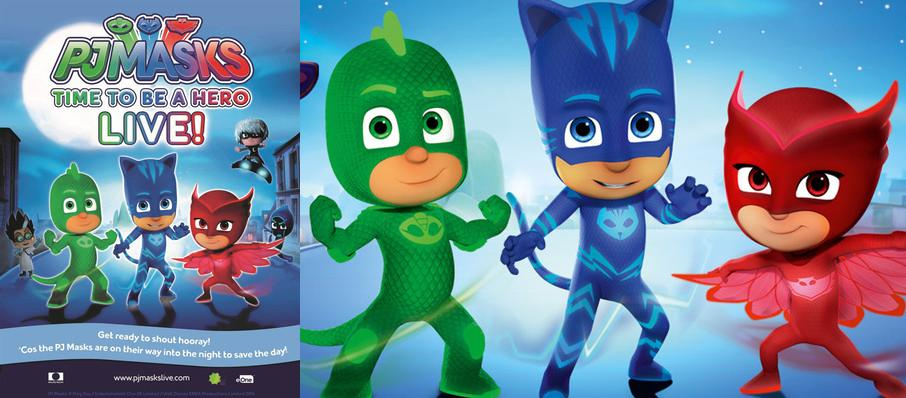 PJ Masks Live! Time To Be A Hero at Francis Winspear Centre