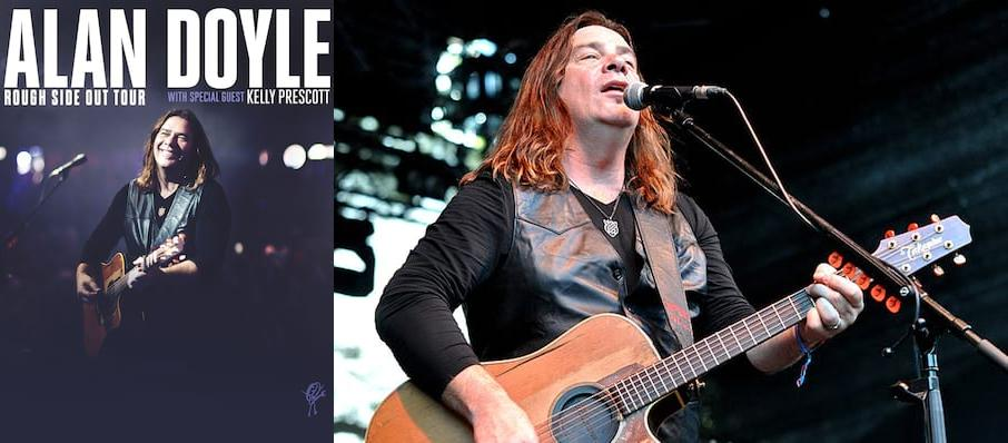 Alan Doyle at Northern Alberta Jubilee Auditorium