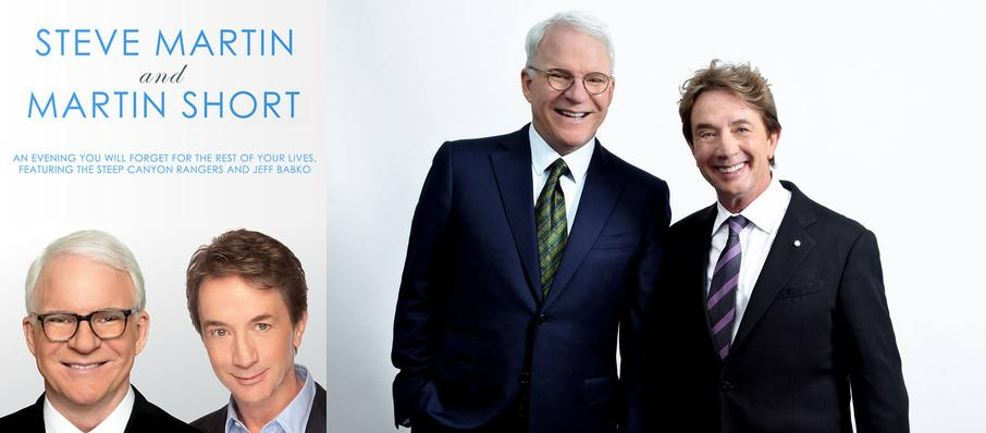Steve Martin, Martin Short, and The Steep Canyon Rangers at Northern Alberta Jubilee Auditorium