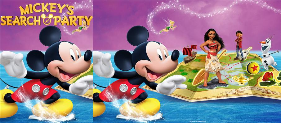 Disney on Ice: Mickey's Search Party at Edmonton EXPO