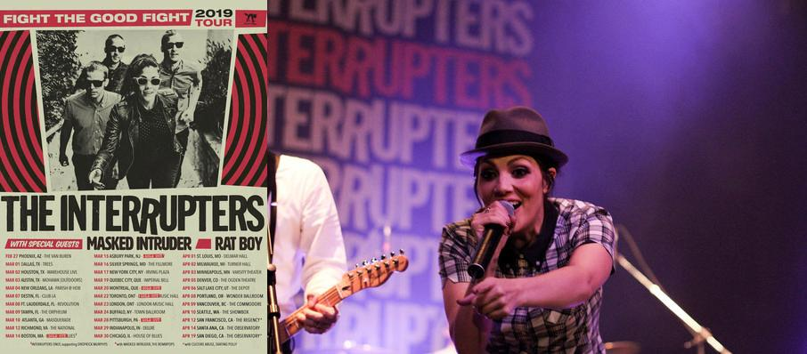 The Interrupters at Edmonton Convention Centre