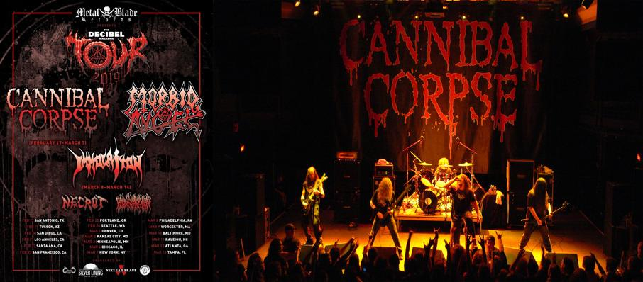 Cannibal Corpse at Union Hall
