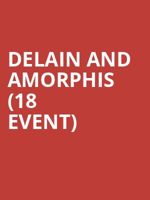 Delain and Amorphis (18+ Event) at Starlite Room