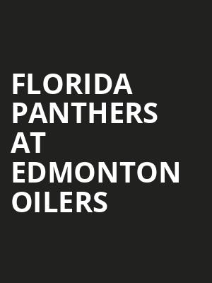 Florida Panthers at Edmonton Oilers at Rogers Place
