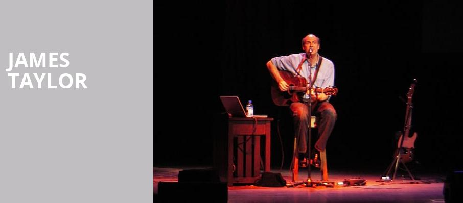 James Taylor, Rogers Place, Edmonton