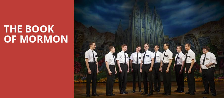 The Book of Mormon, Northern Alberta Jubilee Auditorium, Edmonton
